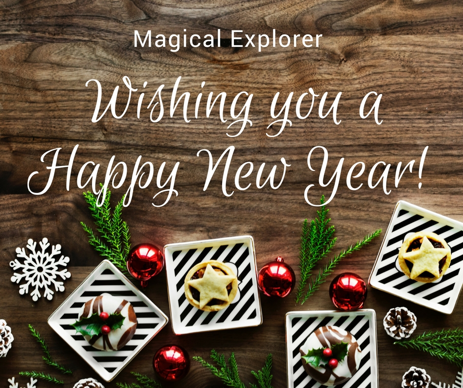 Happy New Year from Magical Explorer